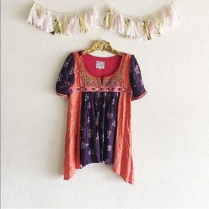 Floreat Bohemian Tunic Top